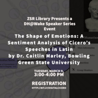 The Shape of Emotions: A Sentiment Analysis of Cicero's Speeches in Latin