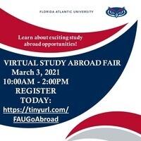 FAU Education Abroad Virtual Fair