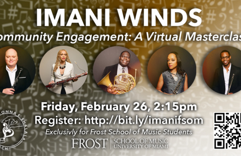 Imani Winds for a Virtual Masterclass