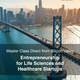 Global online entrepreneurship course for life science/healthcare