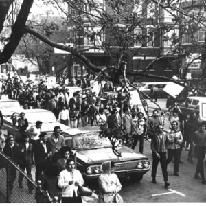 Young Lords Organization march, 1968 (Photo credit: Michael James)
