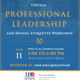 Davies Virtual Professional Leadership & Dining Etiquette