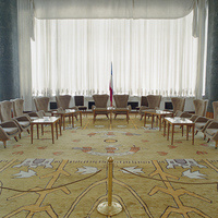 Vesna Pavlović, Salon Serbia, Inside the Federal Executive Council Building, Belgrade, Serbia From Collection/Kolekcija series (2003-2005). Courtesy of the artist.