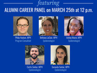 Advancing Professionally during a Global Pandemic: Currents of Public Health ft. Alumni Career Panel