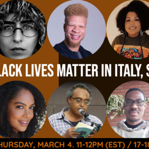 Black Lives Matter in Italy, Spain, and Baltimore. International Forum