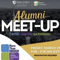 Wake Div Alumni Meet-Up @CBFNC Gathering