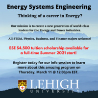 Thinking About a Career in Energy? | Energy Systems Engineering