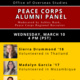 Peace Corps Alumni Student Panel