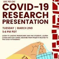 PSI CHI: COVID-19 Research Presentation