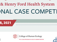 Inaugural Cornell Sloan Program & Henry Ford Health System Case Competition