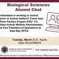 Biological Sciences Alumni Chat