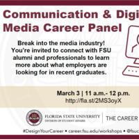 Communication & Digital Media Career Panel