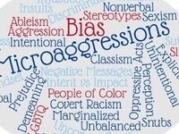 Word Cloud of words related to Bias and Microaggressions