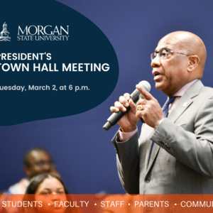 President's Town Hall Meeting – Spring Semester 2021