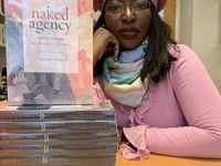 Naminata Diabate with her new book Naked Agency