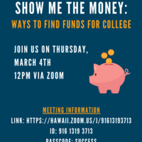 Show Me the Money: Ways to Find Funds for College