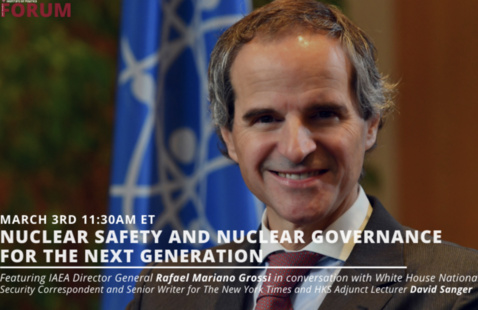 Nuclear Safety and Nuclear Governance For the Next Generation poster