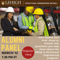 Master of Engineering in Structural Engineering Alumni Panel