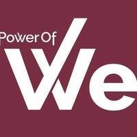Power of We Logo - Agree to Disagree Event (Power of We and College of Social Sciences and Public Policy)