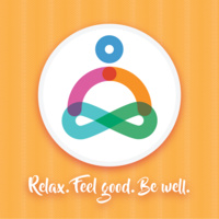 fui logo relax. feel good. be well.