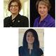 Presenters Dr Laura Bilek, Dr Nancy Waltman, and Laura Flores