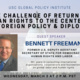 Returning Human Rights to the Center of U.S. Foreign Policy and Diplomacy