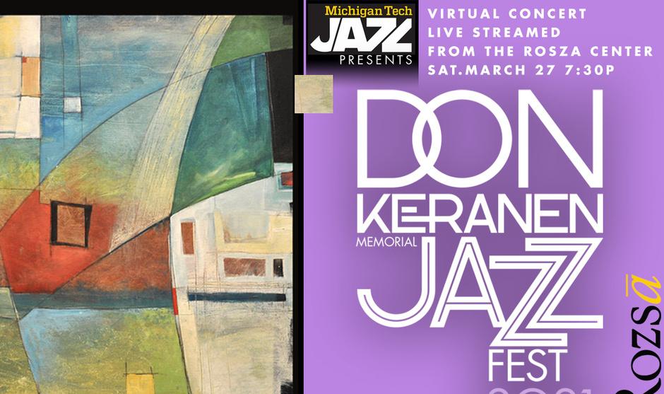 Don Keranen Jazz Fest 2021 poster