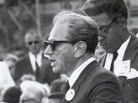 Joachim Prinz speaking at March on Washington