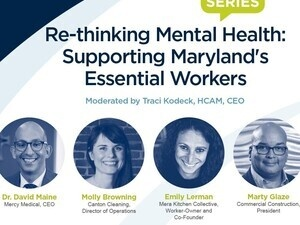Invitation: Re-thinking Mental Health: Supporting Maryland's Essential Workers