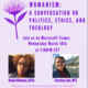 WHM: Womanism: A Conversation on Politics, Ethics, and Theology