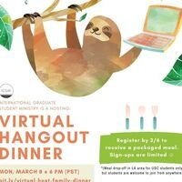 International Grad Students - Virtual Hangout Dinner