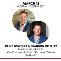 Clint Jones and Brandon Cruz head shots