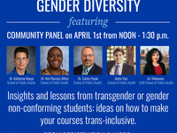 Dialogues on Sexual and Gender Diversity ft. Community Panel