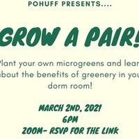 Grow a Pair (of greens)!