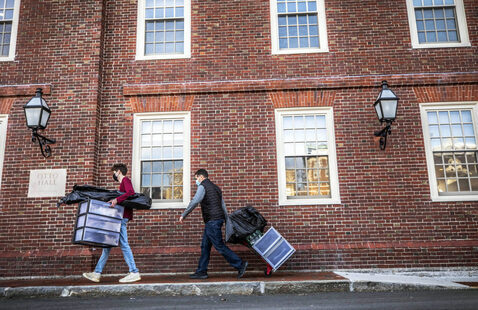 Move Out Deadline for Spring Term