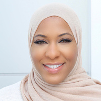 Ibtihaj Muhammad -- the first American woman to to compete, and medal, in a hijab during the Olympics