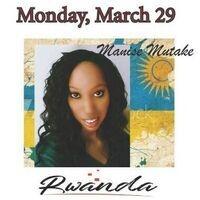 Virtual International Dinner Series featuring Rwanda