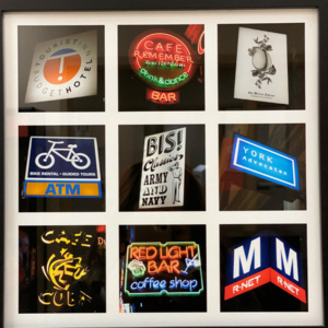 """A photograph from  BGSU professor Matthew Donahue's """"The Amsterdam Sign Project"""""""