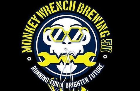 Monkey wrench brewing 5k logo