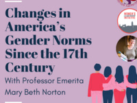 Changes in America's Gender Norms since the 17th Century