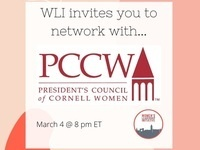 A joint evening with WLI and PCCW: Experiences as Cornell Women