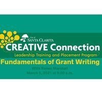 Creative Connection: Fundamentals of Grant Writing