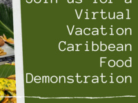 Spring Break Virtual Vacation: Food Demonstration