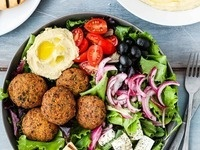 National Nutrition Month: Highlight Mediterranean Cuisine- Falafel
