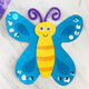 Take & Make: Paper Plate Butterfly Craft