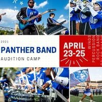 2021 Panther Band Audition Camp