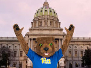 Roc at PA Capitol Building