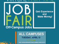 Virtual Part-Time Job Fair - All Campuses