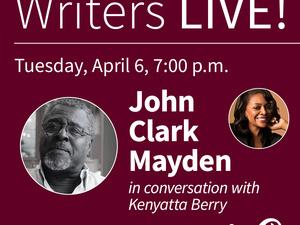 Writers LIVE! John Clark Mayden, Baltimore Lives: The Portraits of John Clark Mayden