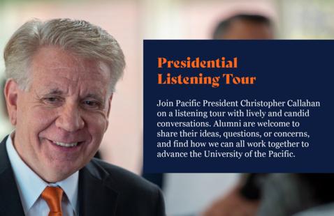 Presidential Listening Tour: Regent Nava Fathi `95